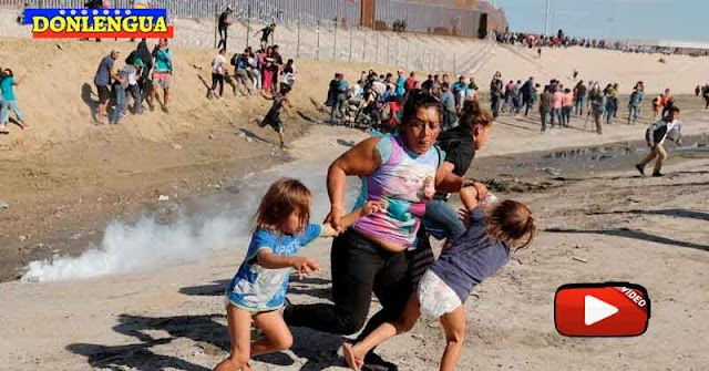 Venezolanos fueron capturados intentando cruzar a pie la frontera entre México y Estados Unidos