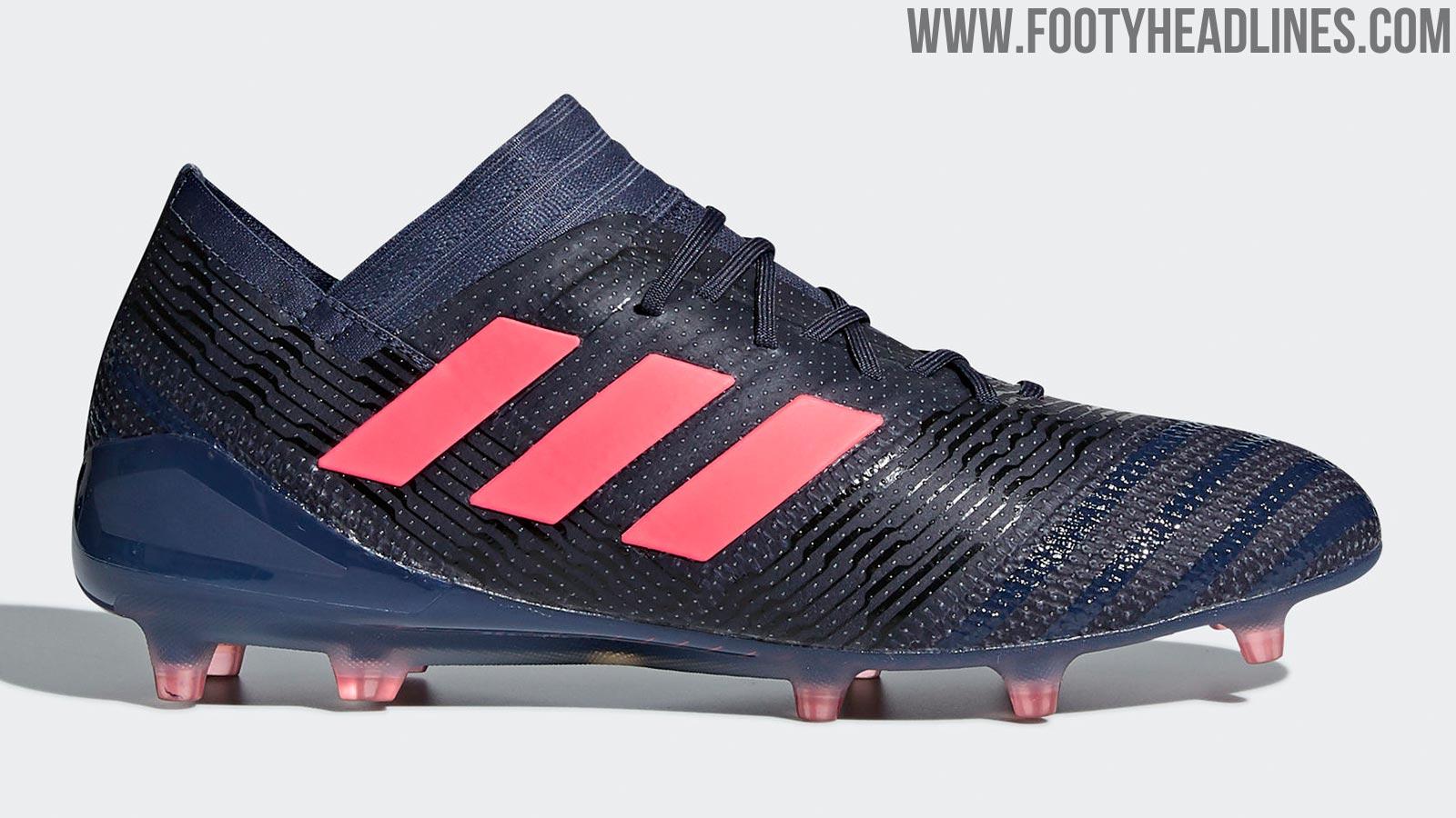 Trace Blue Adidas Nemeziz 17 Women S 2018 Boots Released