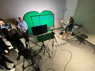green screen video production studio