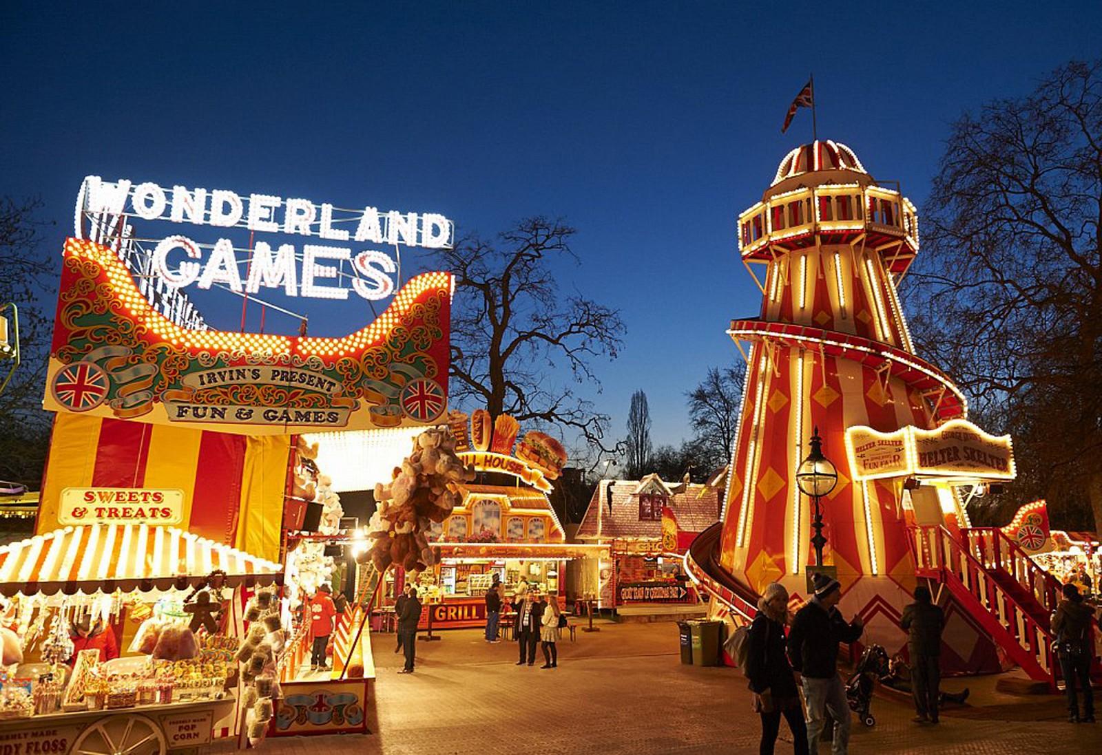 Winter Wonderland Hyde Park Games