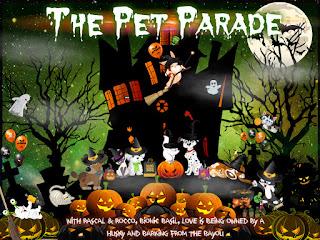 Halloween Pet Parade badge