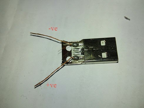 Usb Cable Positive Negative Polarity on slot car power supply