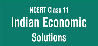 NCERT Solutions for Class 11 Indian Economic