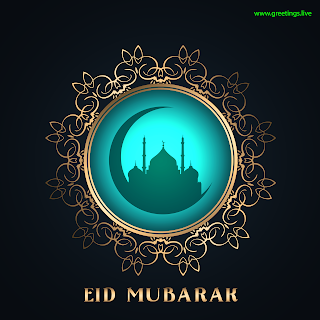 EID mubarak vector Images Crescent moon Mosque Islamic design