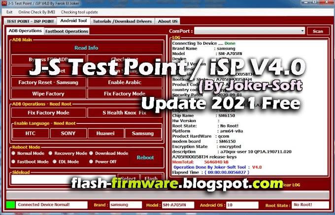 J-S Test Point / iSP V4.0 (By Joker-Soft) Latest Full Free Download