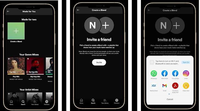 Spotify Blend techleaks.in