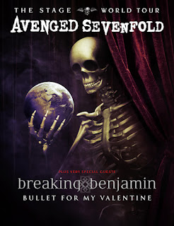Avenged Sevenfold Announces The Stage World Tour