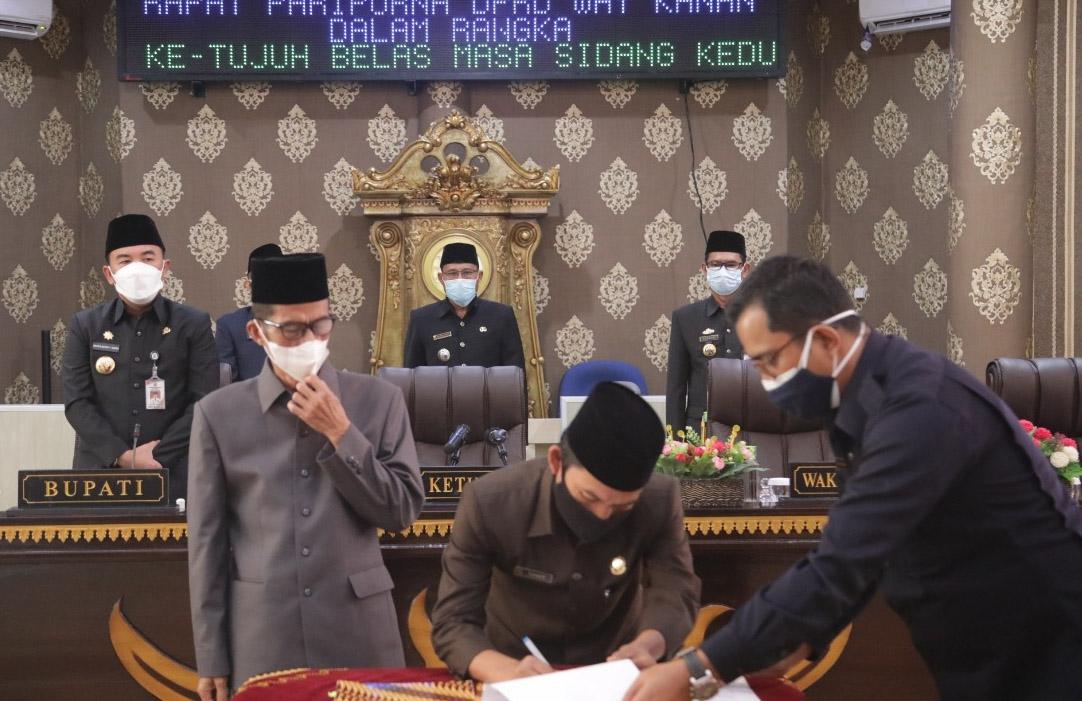Usai KPU Menepatkan Adipati-Ali Sebagai Bupati-Wabup, DPRD Waykanan Gelar Rapat Terbuka
