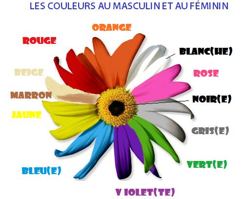 Kolory - słownictwo 4 - Francuski przy kawie