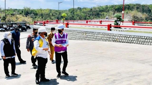 Jokowi Bilang Bendungan Pengendali Banjir Jakarta Tuntas November 2021