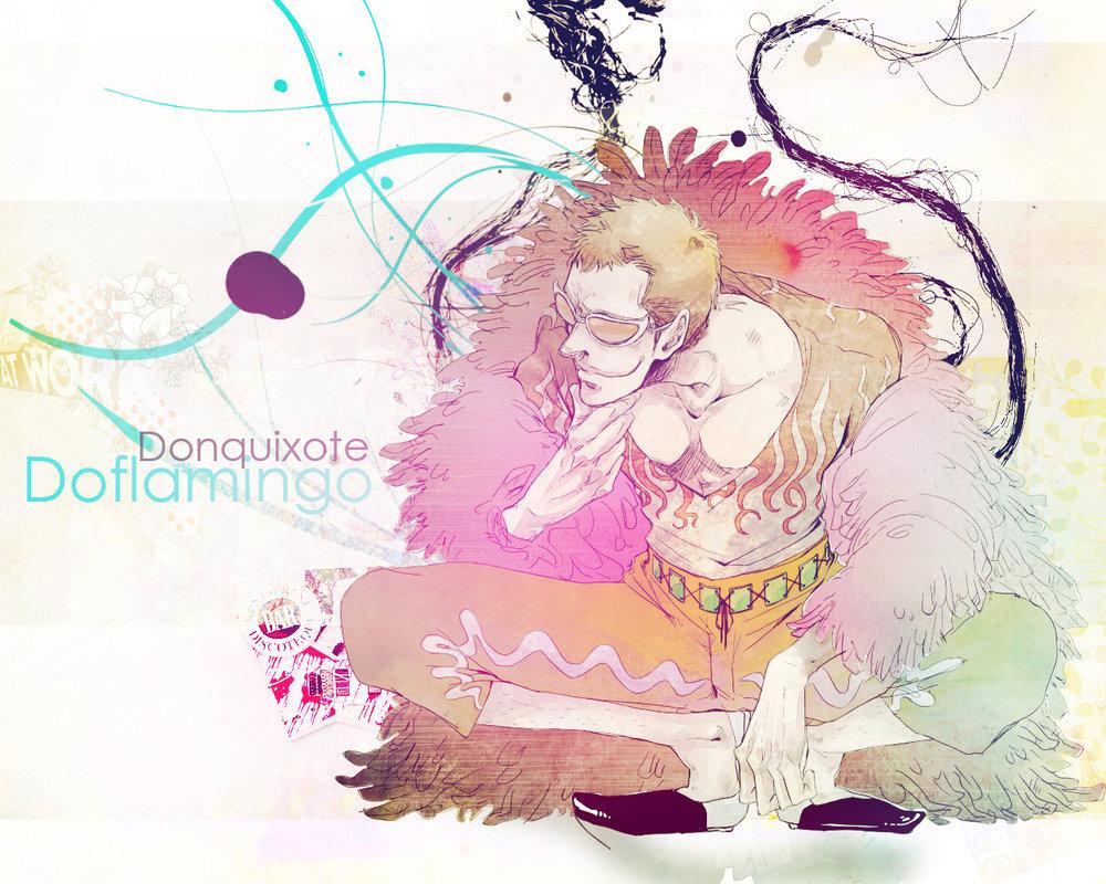 Girl Kiss Girl Wallpapers Donquixote Doflamingo 7 Fan Arts Your Daily Anime