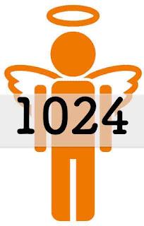 1024 の エンジェルナンバー の意味