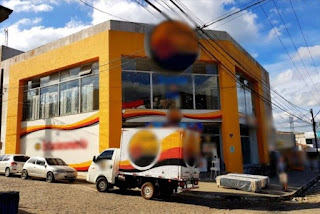 Assaltantes roubam celulares em loja de eletrodomésticos em Lagoa Seca