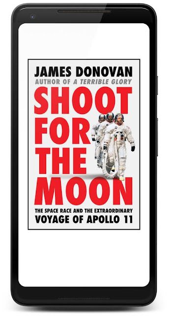 Cover of the book Shoot for the Moon: The Space Race and the Extraordinary Voyage of Apollo 11