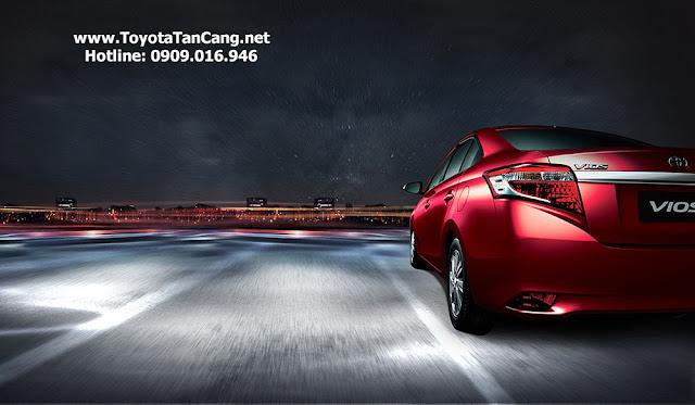 Toyota Vios 2015 G có mức giá 624 triệu đồng