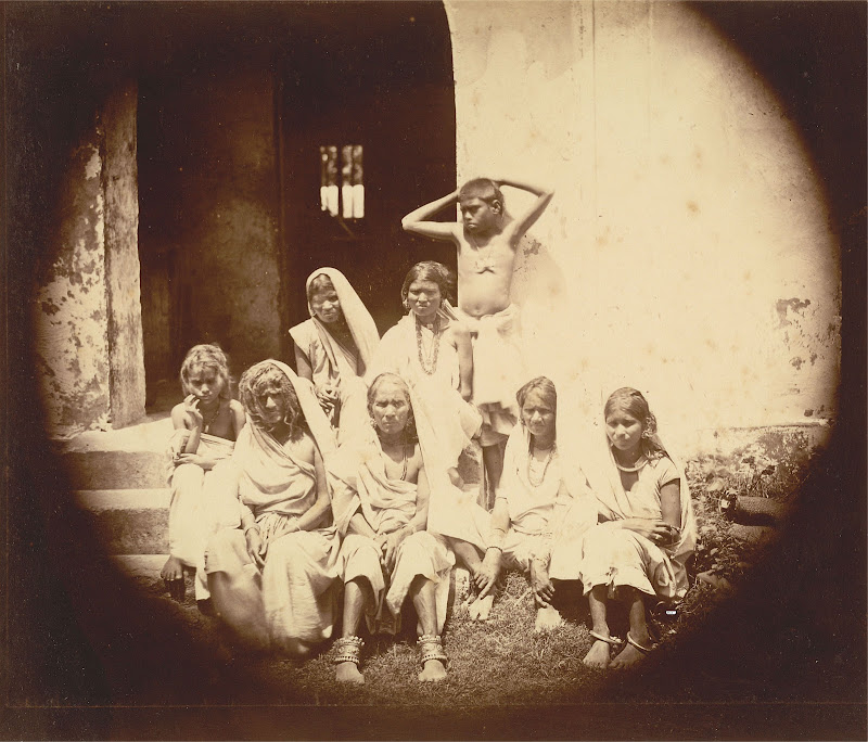 Group of Women and Children from Eastern Bengal - 1860's