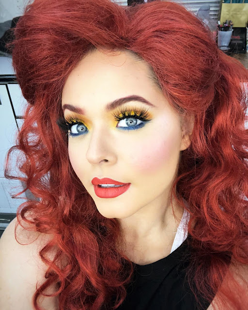 Sasha Pieterse red hair as 'The Little Mermaid' Ariel Disney Night DWTS Elimination