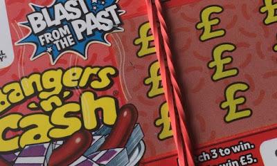 Bangers 'n' Cash Scratchcard
