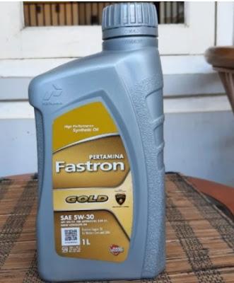 Oli mesin Fastron Gold SAE 5W-30 pertamina