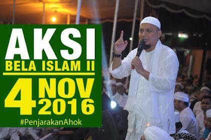 Inilah 17 Adab Aksi Bela Islam 4 November 2016 Yang Disampaikan Guru Kita K.H. Muhammad Arifin Ilham