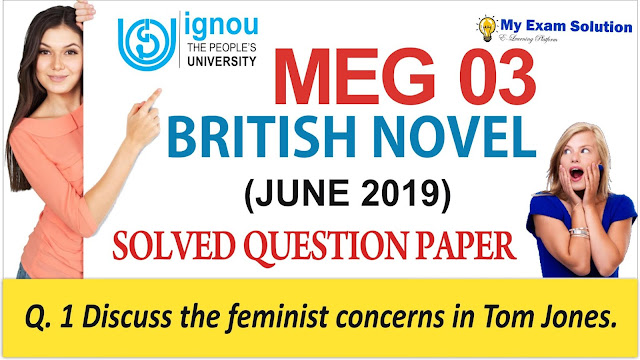 meg 03, british novel ignou meg 03, meg 03 previous year question paper