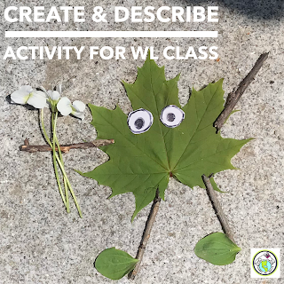 Create & Describe Activity for World Language Classes