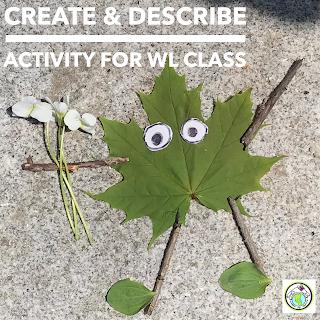 Create & Describe Activity for World Language Classes