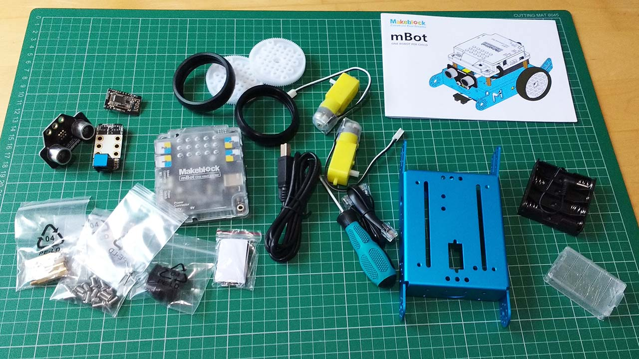 Makeblock mBot 1 1 Review - Case with Brick Studs and Castor | Tech