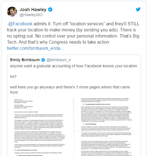 Facebook Tetap Bisa Lacak Lokasi