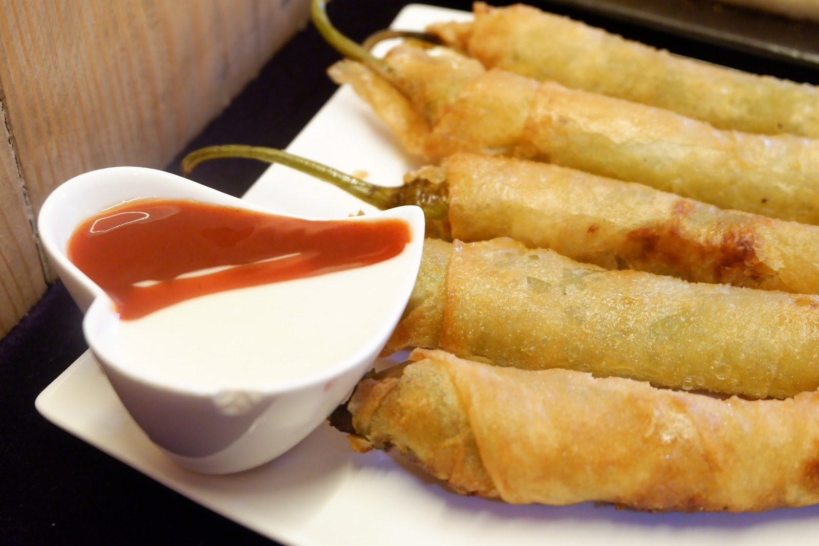 fried cheese wrapped on lumpia wrapper