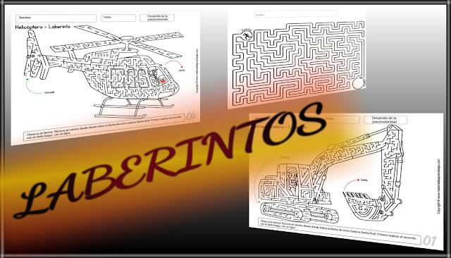 LABERINTOS-CONCENTRACIÓN Y ATENCIÓN