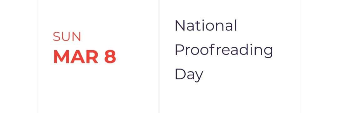 National Proofreading Day Wishes Sweet Images