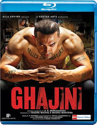 Ghajini (2008) Hindi 5.1ch 720p | 480p BluRay ESub x264 1.4Gb | 550Mb