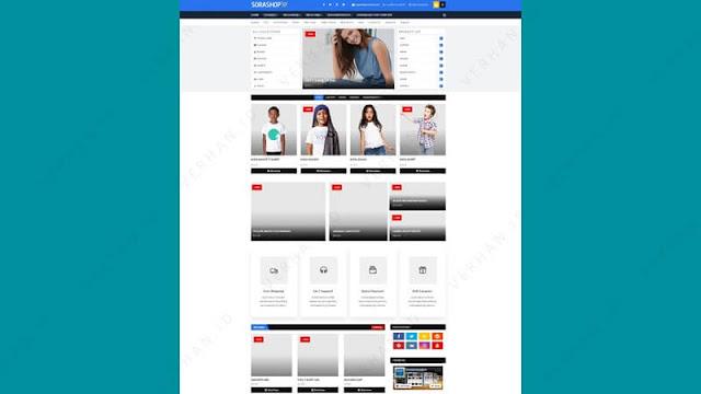 sora shop blogger template