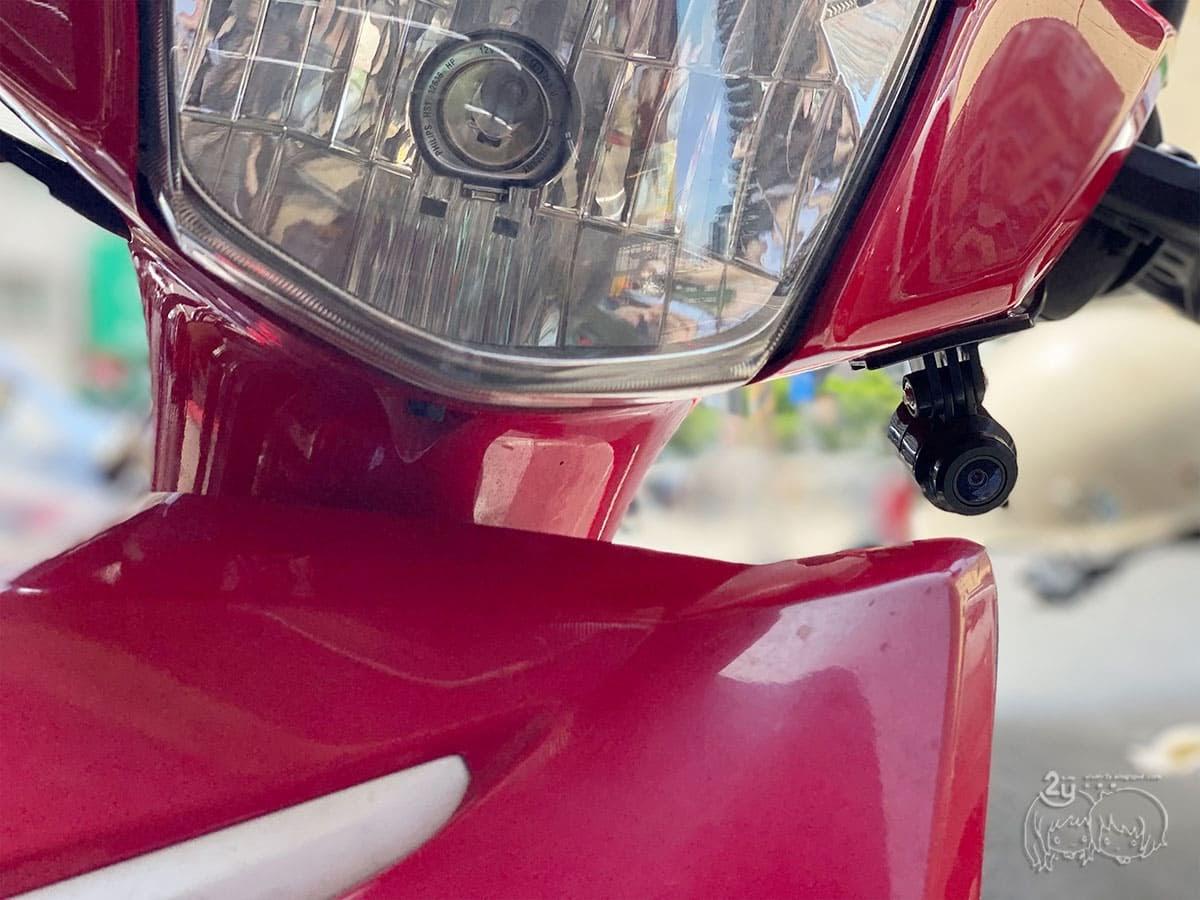 3C產品開箱  機車行車紀錄器AD731銨鉑 通勤族必備 1080P前後雙鏡頭清新畫質 附DIY安裝心得