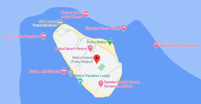 mabul island map