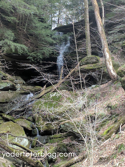 Hemlock Falls in Ohio