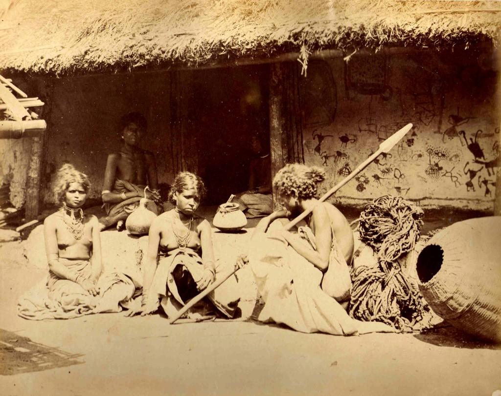 Tribal Women probably from Madhya Pradesh - 1862