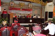 Bupati Sanjaya Sampaikan Pidato Perdana di Depan Sidang Paripurna DPRD Tabanan