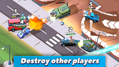 Crash of Cars Mod Apk terbaru