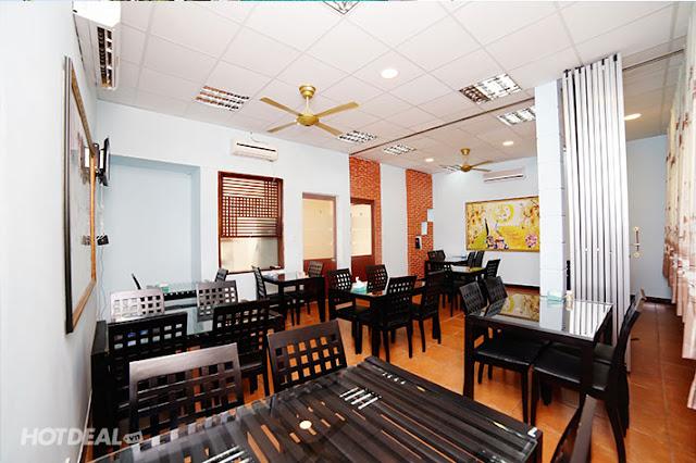 sơn sửa, trang trí nội thất nhà hàng