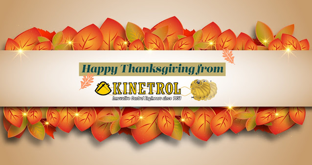 Happy Thanksgiving from Kinetrol USA