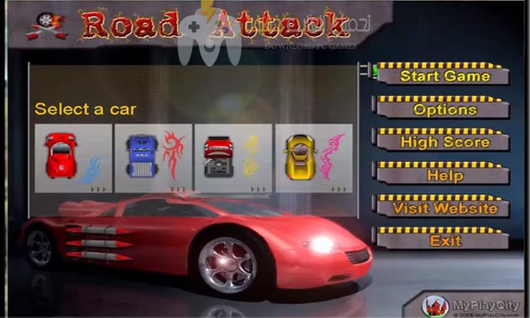 تحميل لعبة Road Attack للكمبيوتر مجانا