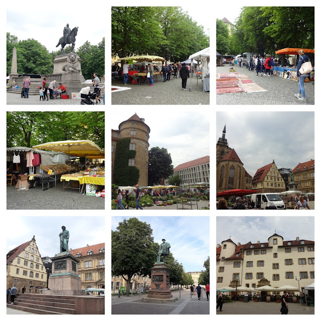 O que ver e fazer em Stuttgart? Markthalle, Stiftskirche, Schillerplatz, Karlsplatz