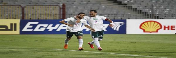 المصرى يحقق الفوز على حساب إتحاد الجزائر ويضع قدما بنصف النهائى