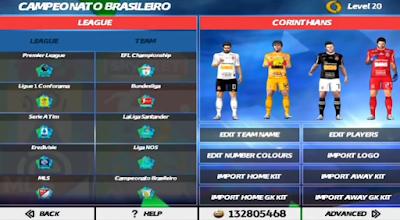 FTS 20 Mod PES Soccer 2020