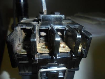 Старый контактор подогревателя