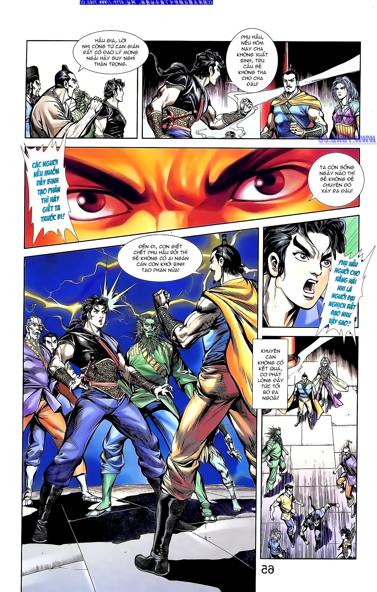 Cơ Phát Khai Chu Bản chapter 144 trang 22