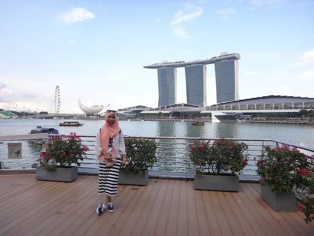 Merlion Park Wisata Singapore
