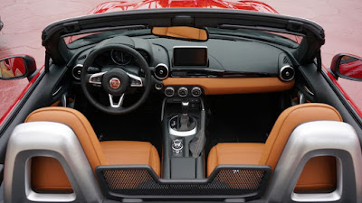 new version FIAT 124 Spider interior Hd Image